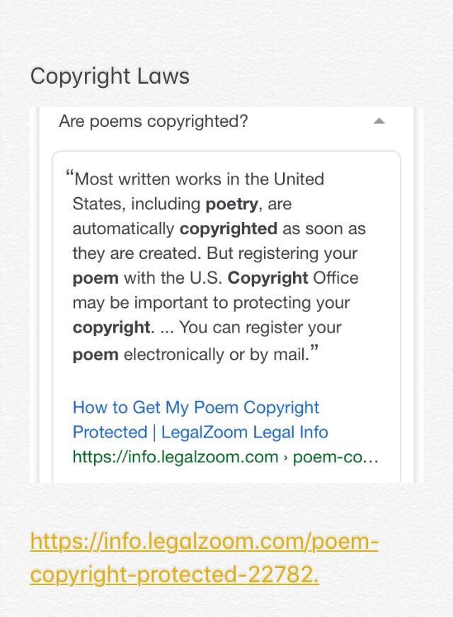 Copy Write Poems 2